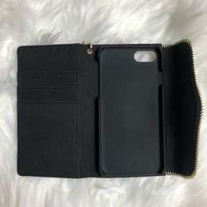 Rebecca Minkoff Bags - Rebecca Minkoff l Black Leather Cell Phone Wallet